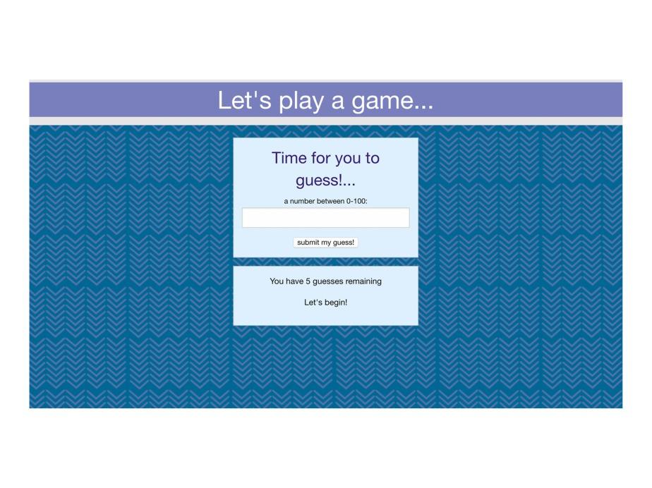 Simple Web App