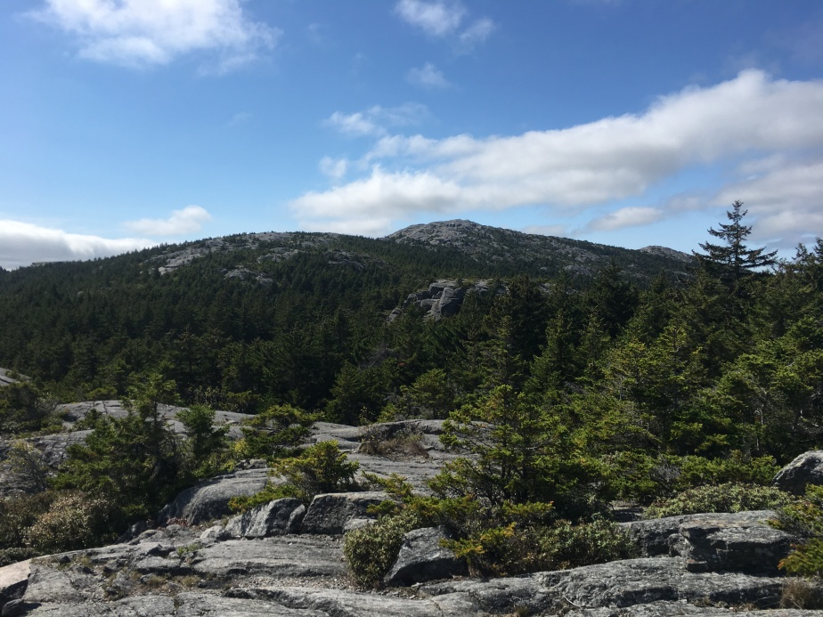 Approaching the Peak of Monadnock