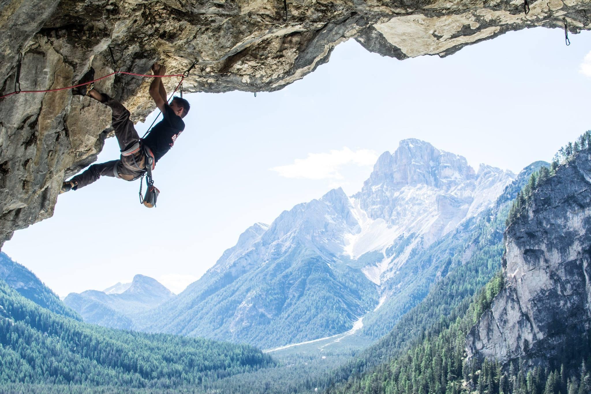 Petzl Rock Climbing Climber Vinyl Decal Sticker Mountain Climb Car Laptop Truck