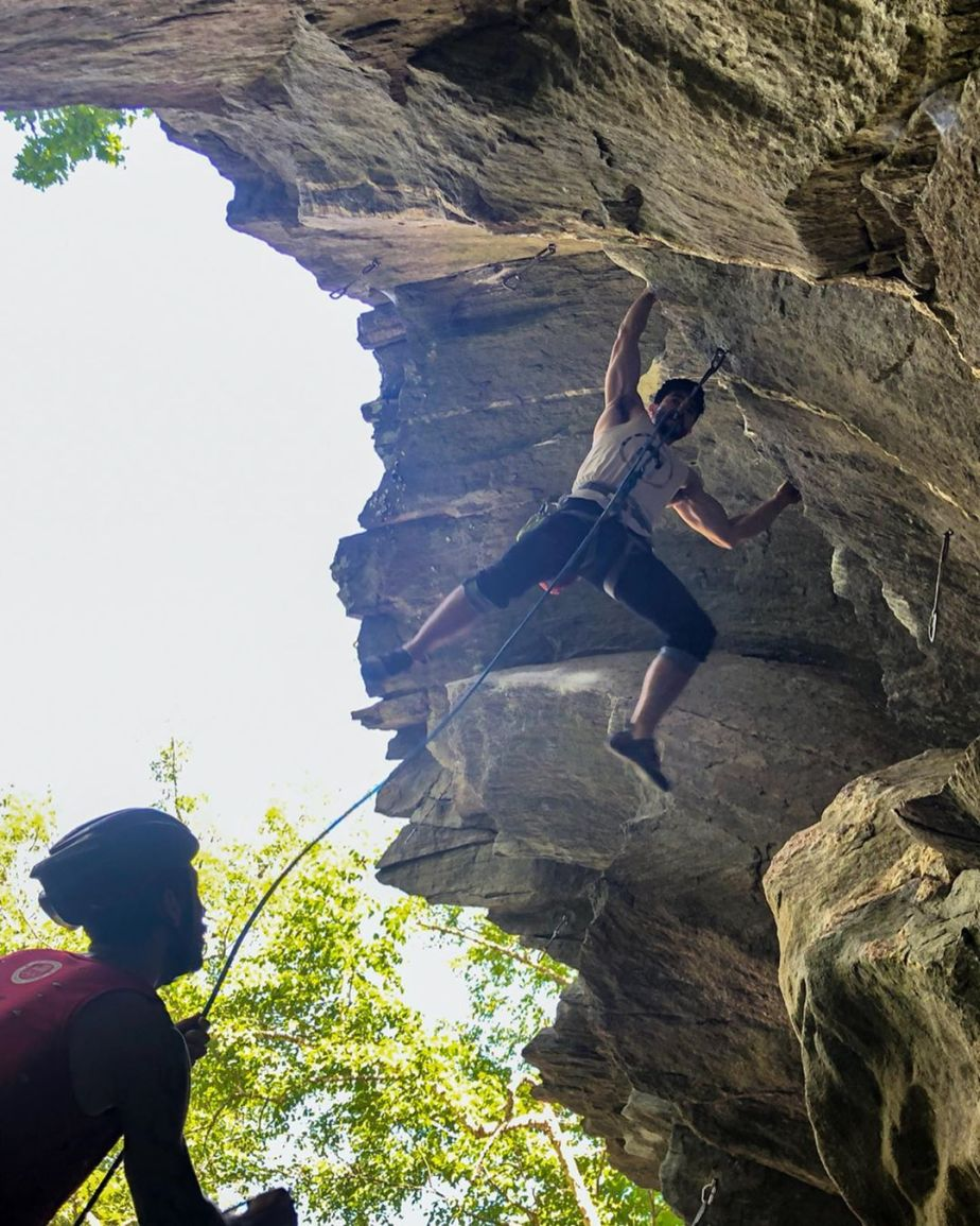 Training Journal – Bouldering (Hammond Pond), Sport Climbing (Rumney), Trail run: 6/17/19 – 6/23/19