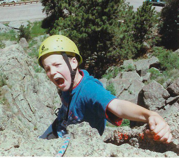 Josh in his element from a young age