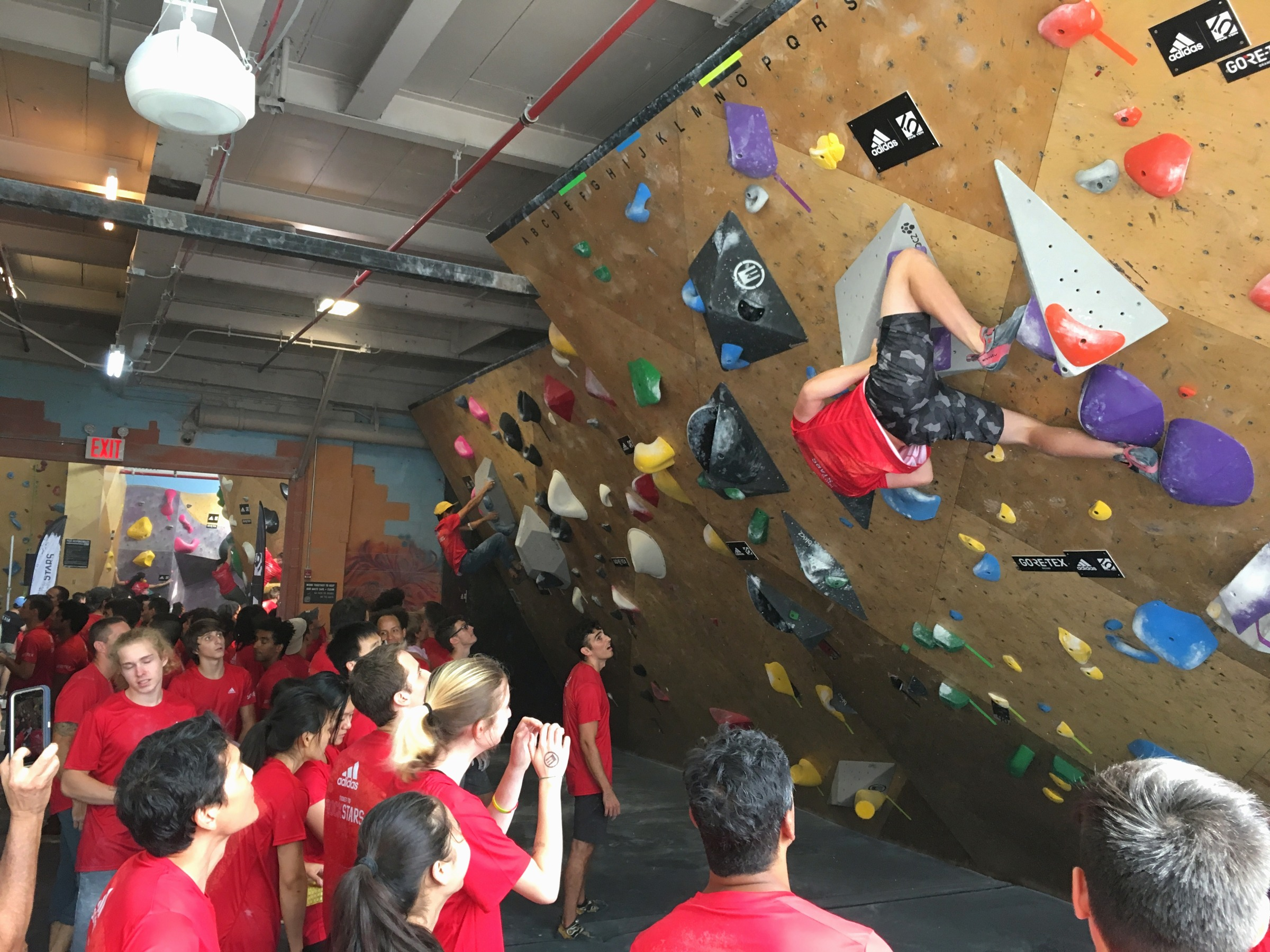 My First Climbing Comp: The Substance Matches the Hype at adidas' Ticket to Rockstars Brooklyn
