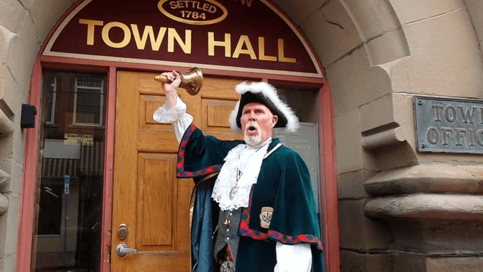 News from Nova Scotia: Meet the Town Crier Delivering Boston's Christmas Tree