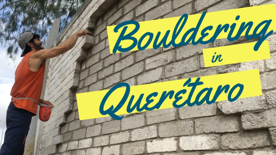 Bouldering in Querétaro