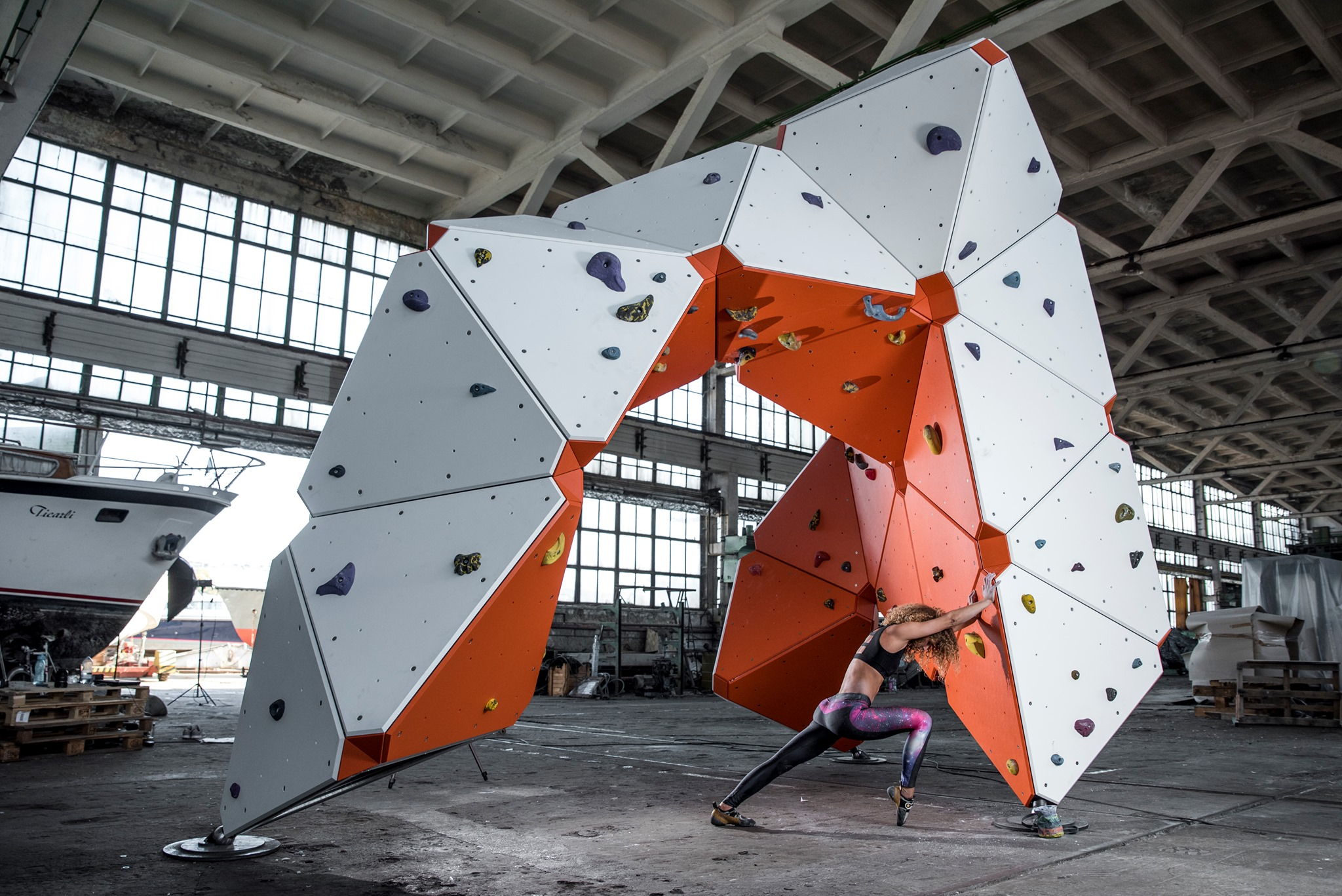Are These Modular Bouldering Walls the Future of Playgrounds?